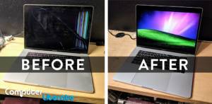 Before & After Macbook Pro Repair